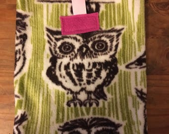 Small Pet Pouch - Owls