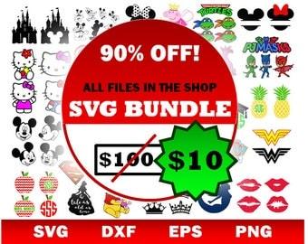 Disney svg, Disney castle svg, SVG bundle, mickey mouse svg, minnie mouse svg, svg, pineapple svg, trolls svg, paw patrol svg, svg files