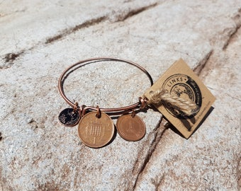 Copper Coin Bangle