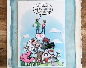 Funny Anniversary Card, Anniversary Card, Funny Cards for Anniversary, Funny Greeting Cards, Greeting Card, Wedding Anniversary
