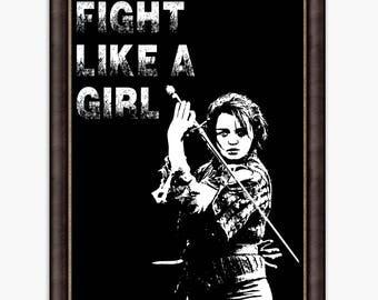 Game of thrones art, Arya Stark poster, game of thrones,  Arya Stark, game of thrones Arya, Fight like a girl, Arya Stark Game of Thrones