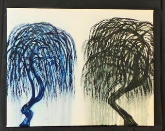 Weeping trees