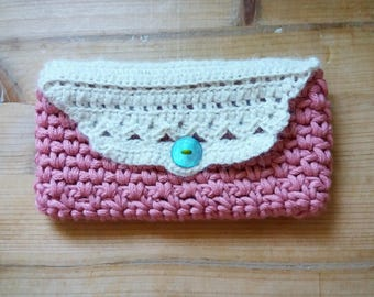 Crochet eyeglasses Case lace