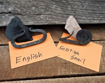 Scottish Snail/ English Fire Striker Flint and Steel