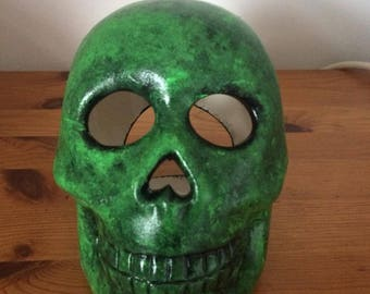 Zombie Skull Tealight Holder