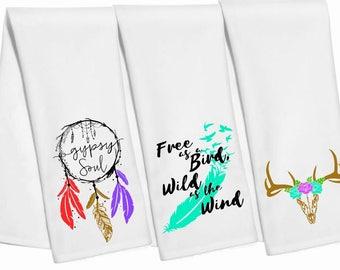 Boho Hand Towels
