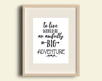 Quotes On Adventure Adorable Adventure Quotes  Etsy