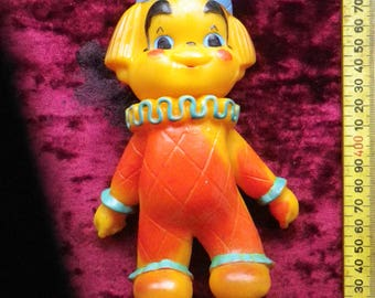 Soviet Rubber toy / 1950s. / Vintage Toy / Soviet / USSR / scarce