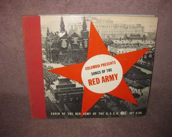 Songs of the Red Army - 78 RPM Record Set