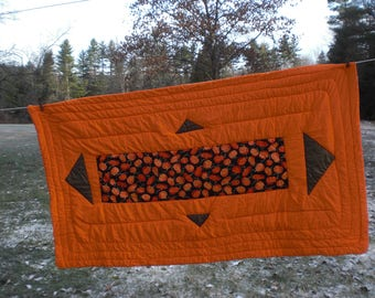 Orange Color Therapy Cuddle Quilt