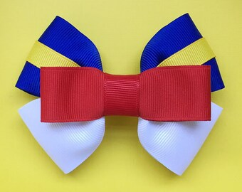 Donald Duck Inspired Hair Bow