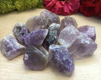 Large Raw Amethyst Crystals