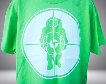 Astronaut t-shirt - Lime Green