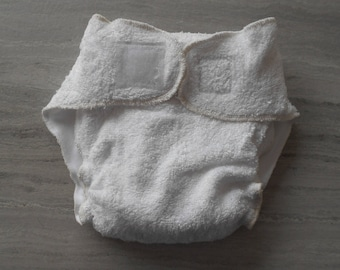 Cloth diaper classic 10-15 kg sponge bamboo Velcro and lining