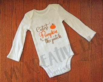 Cutest Pumpkin of the Patch - Baby one piece