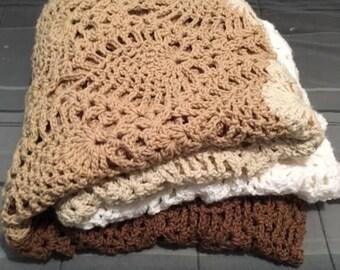Pineapple Crochet Blanket