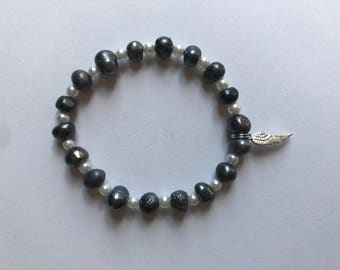 On the Wings of an Angel Bracelet
