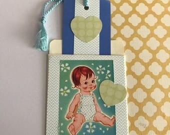 Bookmark - cupie baby boy