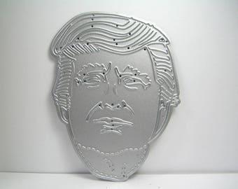 Donald Trump Metal Cutting Die