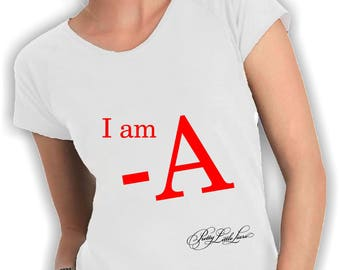 Women's v neck t shirt i am a