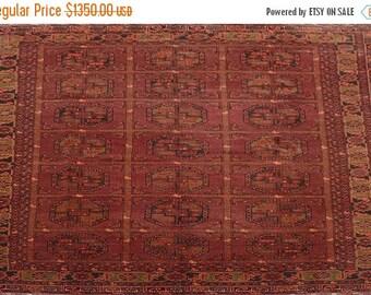 35% OFF Final sale Vintage Afghan tribal qunduzi rug 100 Percent wool