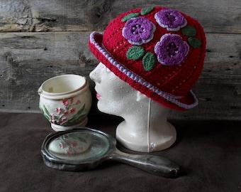 Vintage hat for adult.
