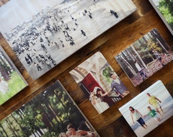 Photo On Wood, Custom Photo On Wood, Photos On Wood, Wooden Wall Art, Photo Printed On Wood, Wood Print 6.75in X 10.5in