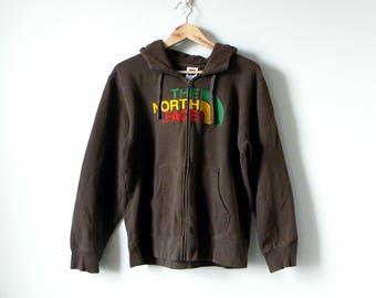 90s North Face Hoodie - 90s Hoodie - 90s Sweatshirt - Vintage Hoodie - Vintage Sweatshirt - Ras Trent Oversized Sweatshirt - Big - Men's L