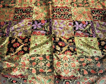Fabric - Imported Very Pretty! - Sewing Crafts Scrapbook -Priority Shipping Worldwide - More Material n Shop