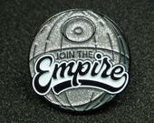Star Wars inspired Join the Empire Enamel Pin |  Pin Badge | Pin Badges | Soft Enamel Pin Badge
