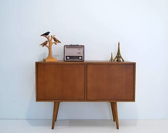 Mid Century Media SideBoard, Tv Stand, Console, Scandinavian Sideboard Design, Retro Console