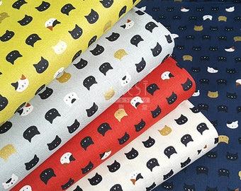 Quilt Gate cotton Cute Cats fabric - 50cm