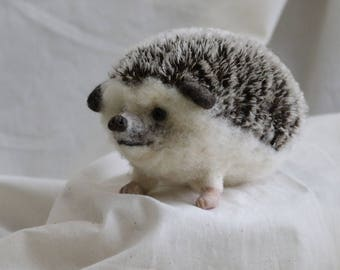 Custom Made to Order Needle Felted Hedgehog