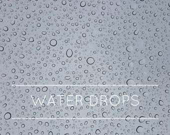 14 Water drop overlays, rain drop, rain overlay, overlays, photo overlays, photography overlays, water drop, photoshop overlays, digital art