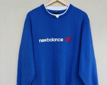 New Balance sports sweatshirt sweater jumper pullover
