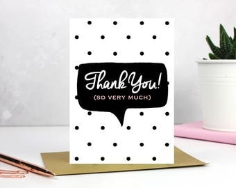 thankyou card, thanks, Thankyou cards, appreciation cards, thankyou very much - Blank Inside