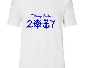 Mouse Anchor Family Vacation shirt Disney Cruise Shirts  Disney Shirt Custom Disney Shirts  Mickey Shirt Couples Shirts Family Shirts Unisex
