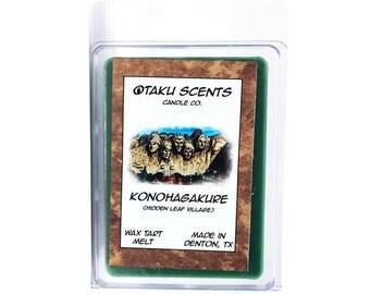 Konohagakure (Hidden Leaf Village) - Scented Soy Anime Wax Melt Tart - Naruto