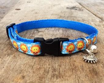 Suns cat collar - cute for summer