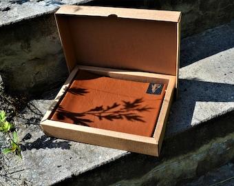 Leather photo album