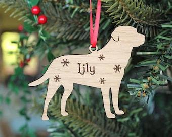 Personalised Labrador Decoration, Labrador Christmas Decoration,Labrador Decoration,Labrador tree decoration,Personalised Dog Decoration,Dog