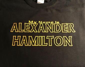 Alexander Hamilton Tee Shirt