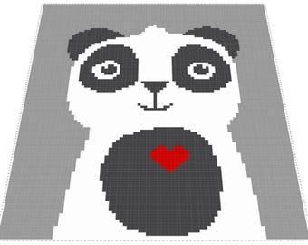 Panda Baby C2C Graph (with Written Instructions)