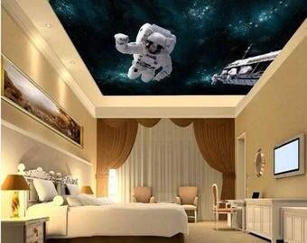 Ceiling Astronaut Wallpaper, Astronaut Wall Decal, Space Shuttle Wallpaper, Space  Shuttle Wall Decal Part 74