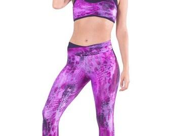 Specialita Animal Print Activewear Cire Leggings