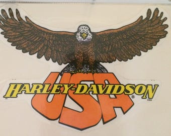 Harley Davidson Vintage Decals and Stickers