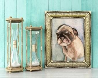 Personalized Pet Portrait Illustration