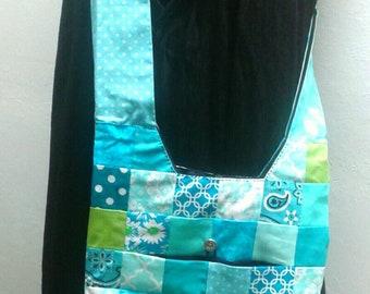 Amanda patchwork purse