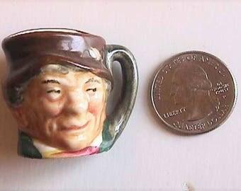 """1-3/8"""" Royal Doulton Toby Jug """"PADDY"""" Miniature Character"""