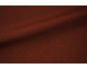 Burgundy plain polycotton
